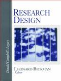 Research Design : Donald Campbell's Legacy, , 0761910859
