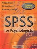 SPSS for Psychologists 9780805860856