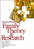 Sourcebook of Family Theory and Research, Acock, Alan C. and Klein, David M., 1412940850