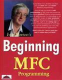 Beginning MFC Programming, Horton, Ivor, 1861000855