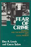 Fear of Crime 9780887380860