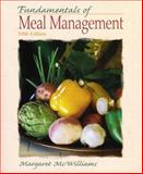 Fundamentals of Meal Management, McWilliams, Margaret, 0135140862