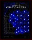 Fundamentals of College Algebra, Swokowski, Earl William and Cole, Jeffery A., 0534420869