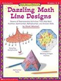 Dazzling Math Line Designs : Dozens of Reproducible Activities That Help Build Addition, Subtraction, Mitchell, Cindi, 0590000861