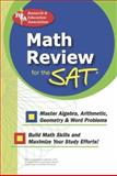 Math Review for the SAT, Research & Education Association Editors, 0738600865