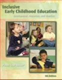 Inclusive Early Childhood Education 9781428320864
