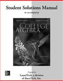 Student Solutions Manual for College Algebra 3rd Edition