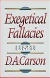 Exegetical Fallacies, Carson, D. A., 0801020867