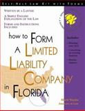 How to Form a Limited Liability Company in Florida, Mark Warda, 1572480866
