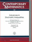 Advances in Stochastic Inequalities, Theodore Preston Hill, Christian Houre, Christian Houdre, 0821810863