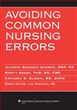 Avoiding Common Nursing Errors, , 1605470872