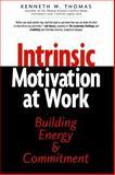 Intrinsic Motivation at Work, Kenneth W. Thomas, 1576750876
