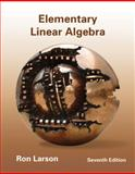 Elementary Linear Algebra, Larson, Ron and Falvo, David C., 1133110878