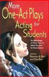More One-Act Plays for Acting Students, , 1566080878