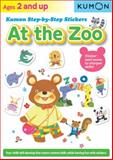 Kumon Step by Step Stickers at the Zoo, Kumon Publishing, 1935800876