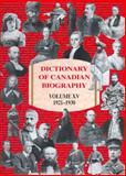 Dictionary of Canadian Biography, 1921-1930, , 0802090877