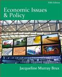 Economic Issues and Policy (with InfoApps 2-Semester Printed Access Card), Brux, Jacqueline Murray, 0538750871