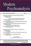 Modern Psychoanalysis, Volume 33, Number, , 0980050871