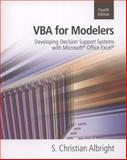 VBA for Modelers, Albright, S. Christian, 1133190871