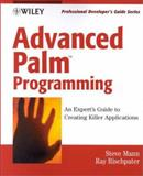 Advanced Palm Programming, Steve Mann and Ray Rischpater, 0471390879