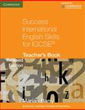 Success International English Skills for IGCSE Teacher's Book, Marian Barry, 0521140889