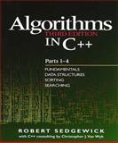 Algorithms in C++ : Fundamentals, Data Structure, Sorting, Searching, Sedgewick, Robert, 0201350882