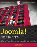 Joomla! Start to Finish, Jen Kramer, 047057089X