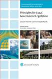 Principles for Local Government Legislation, Graham Sansom, 184929089X