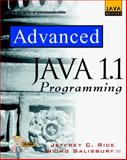 Advanced Java Programming, Rice, Jeffrey C. and Salisbury, Irving, III, 0079130895
