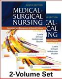 Medical-Surgical Nursing - 2-Volume Set : Assessment and Management of Clinical Problems, Lewis, Sharon L. and Dirksen, Shannon Ruff, 0323100899