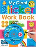 My Giant Sticker Work Book, Roger Priddy, 0312500890