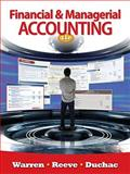 Financial and Managerial Accounting, Warren, Carl S. and Reeve, James M., 0538480890