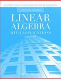 Linear Algebra with Applications, Williams, Gareth, 0763790893