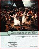 Civilization in the West : From 1350 to 1850, Kishlansky, Mark and Geary, Patrick, 0321070909