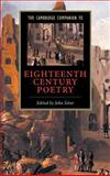 The Cambridge Companion to Eighteenth-Century Poetry, , 0521650909