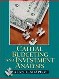 Capital Budgeting and Investment Analysis, Shapiro, Alan C., 0130660906