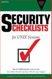 Security Checklists : For UNIX Systems, Compiled, 0976840901