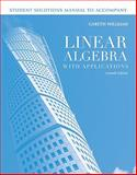 Linear Algebra with Applications, Williams, 0763790915