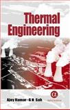 Thermal Engineering, Kumar, Ajoy and Sah, G.N., 1842650912