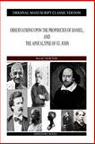 Observations upon the Prophecies of Daniel, and the Apocalypse of St. John, Isaac Newton, 1490310916