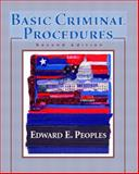 Basic Criminal Procedures, Peoples, Edward E., 0130940917