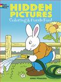 Hidden Pictures Coloring and Puzzle Fun, Anna Pomaska, 0486450910