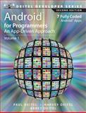 Android for Programmers : An App-Driven Approach, Deitel, Paul and Deitel, Harvey, 0133570924