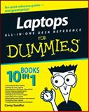 Laptops All-in-One Desk Reference for Dummies, Corey Sandler and Corey Sandler, 0470140925