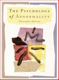 The Psychology of Abnormality, Peterson, Christopher, 0155000926