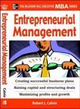 Entrepreneurial Management 9780071450928