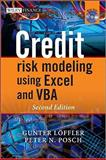 Credit Risk Modeling Using Excel and VBA, Gunter   Loeffler and Peter N. Posch, 0470660929