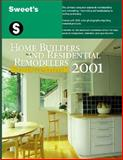 Sweet's Home Builders and Residential Remodelers Sourcebook 2001, , 0071370927