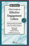 CPA's Guide to Effective Engagement Letters, Rosario, Klein and Holl/Camico, 0808020927