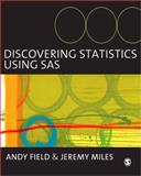 Discovering Statistics Using SAS, Field, Andy and Miles, Jeremy, 1849200920